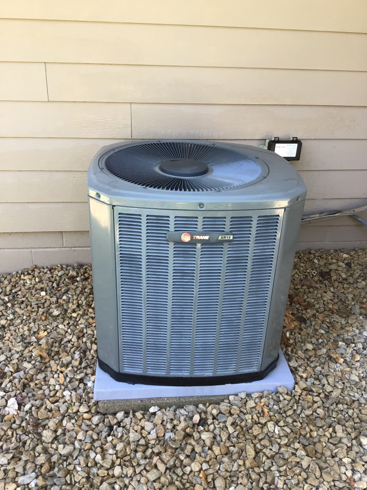 Minnetonka, MN - I performed annual maintenance on a Trane air conditioner