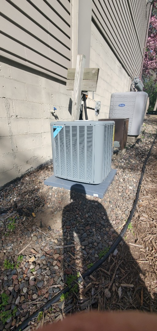 Eden Prairie, MN - New AC and Furnace.