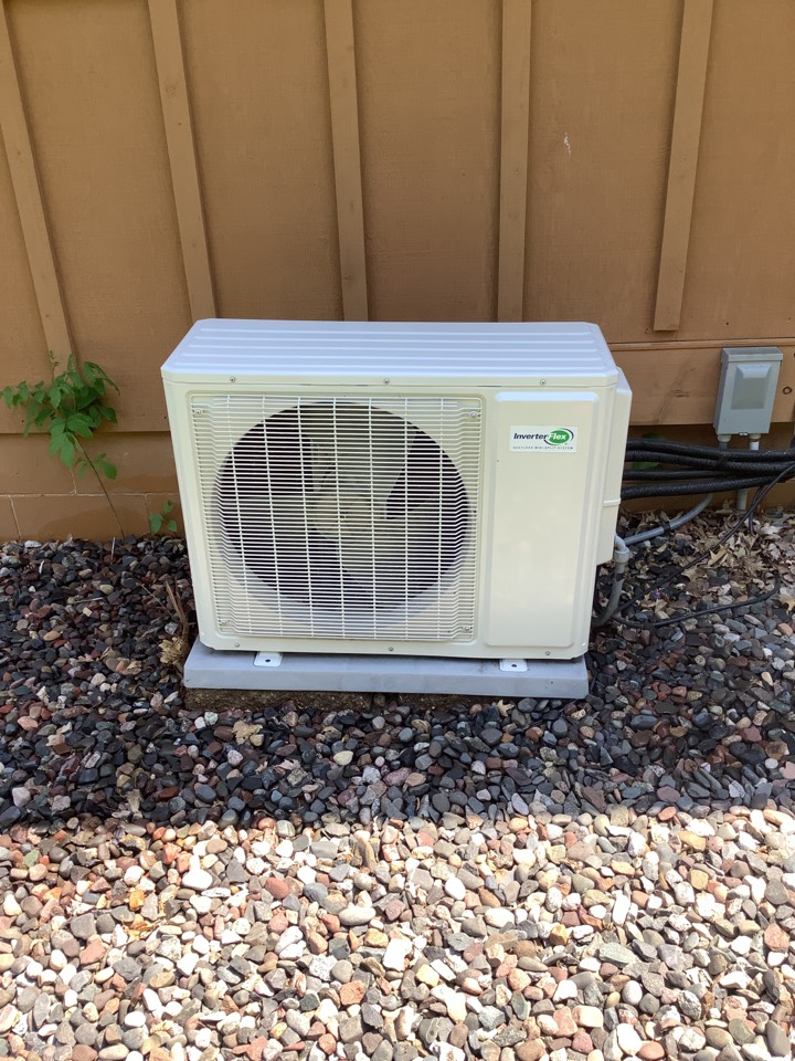 Rockford, MN - Ac tune up. Performed a double tune up on a ductless ac system
