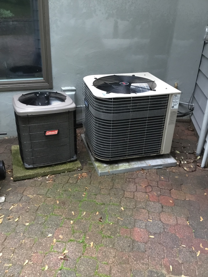 Minnetonka, MN - Ac tune up on Lennox and Coleman air conditioners