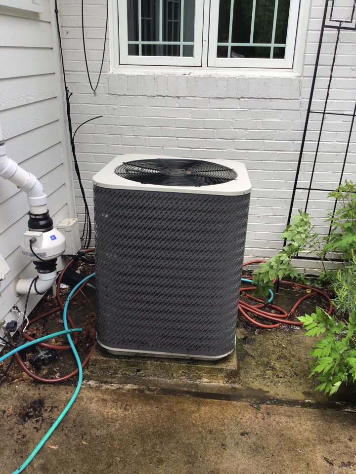 Golden Valley, MN - I performed annual maintenance on a Gibson air conditioner