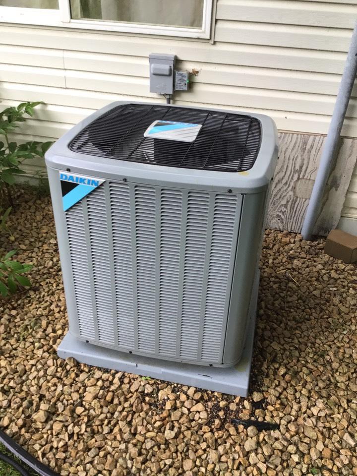 Rockford, MN - Daikin air conditioner maintenance