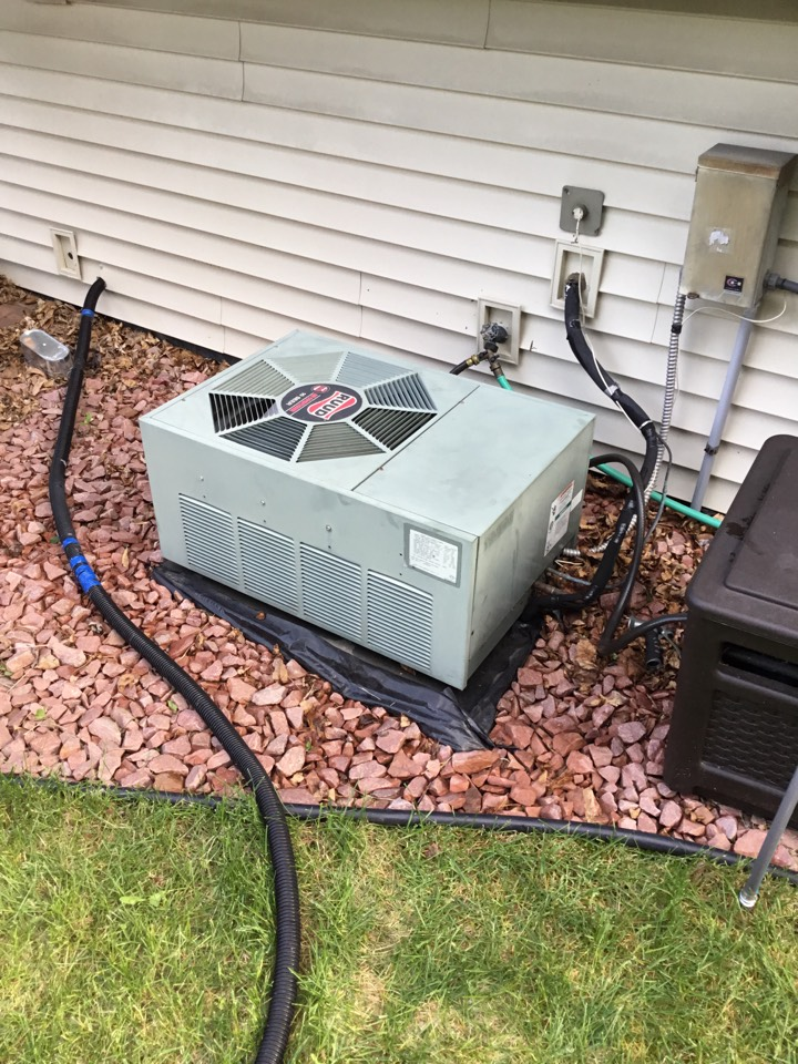 Long Lake, MN - No cooling call. Found Ac wired incorrectly and rewired to get it working.