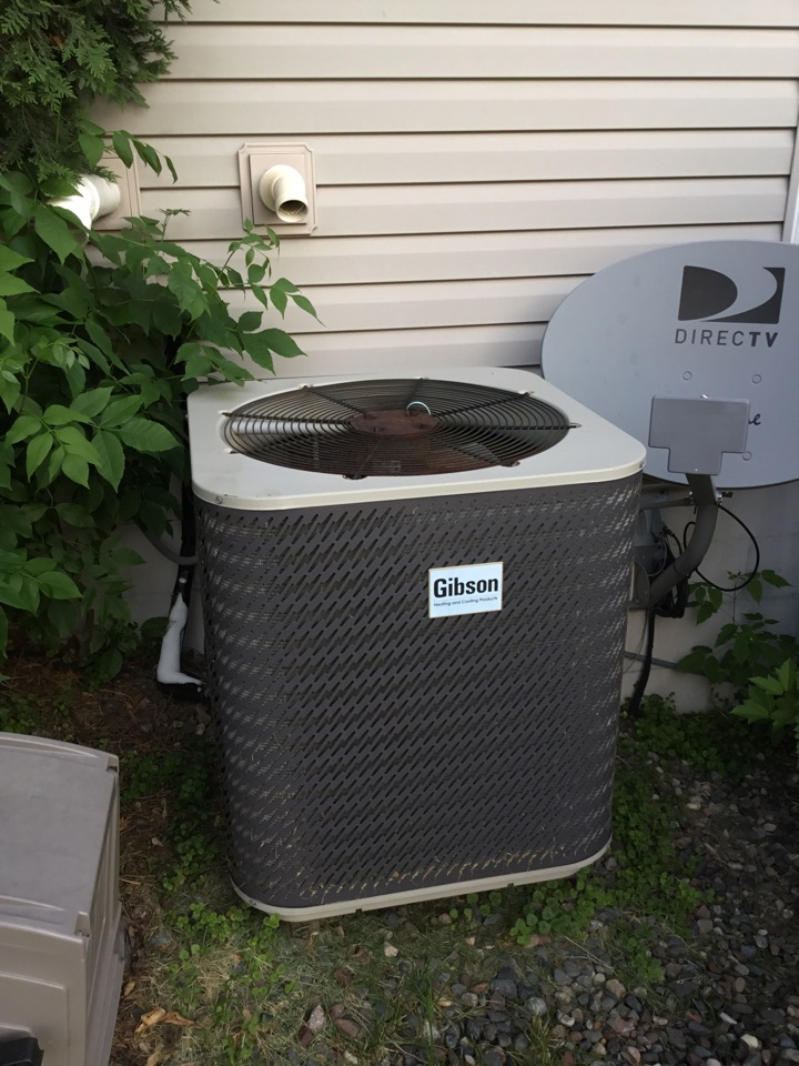 Elk River, MN - No cooling call, found system low on refrigerant.