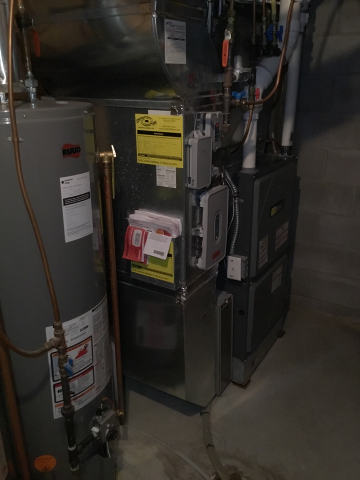 Medina, MN - Found zone system switching between heat and cool and not keeping up on the warmer days. Switched to only cool house.