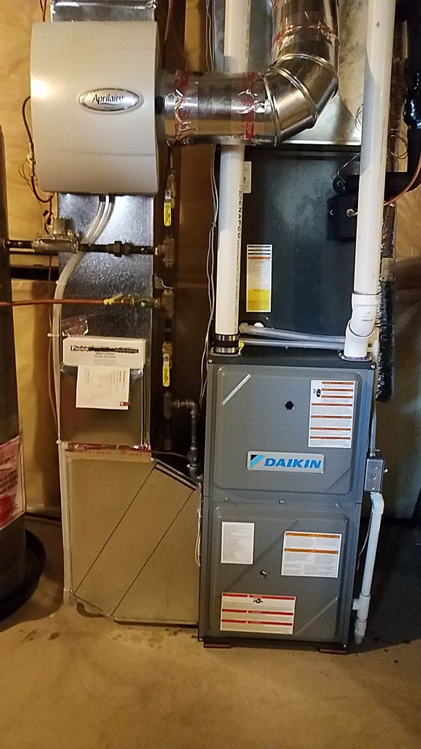 Anoka, MN - Furnace air conditioner indoor coil humidifier