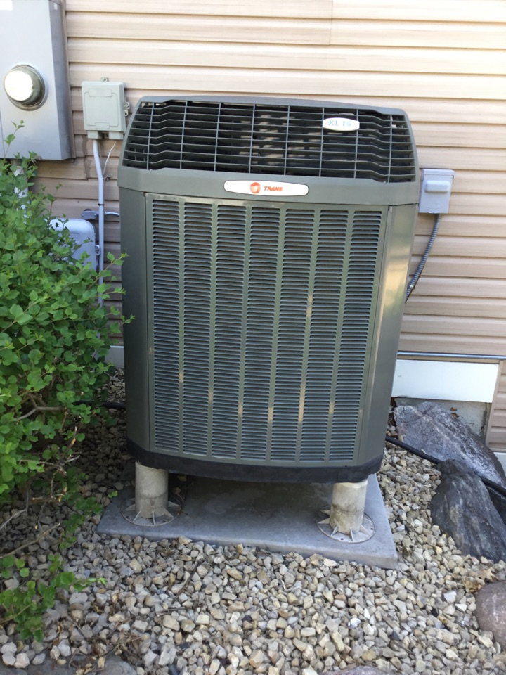 Champlin, MN - No cooling call. Found Ac motor booster failed and replaced to get AC running again.