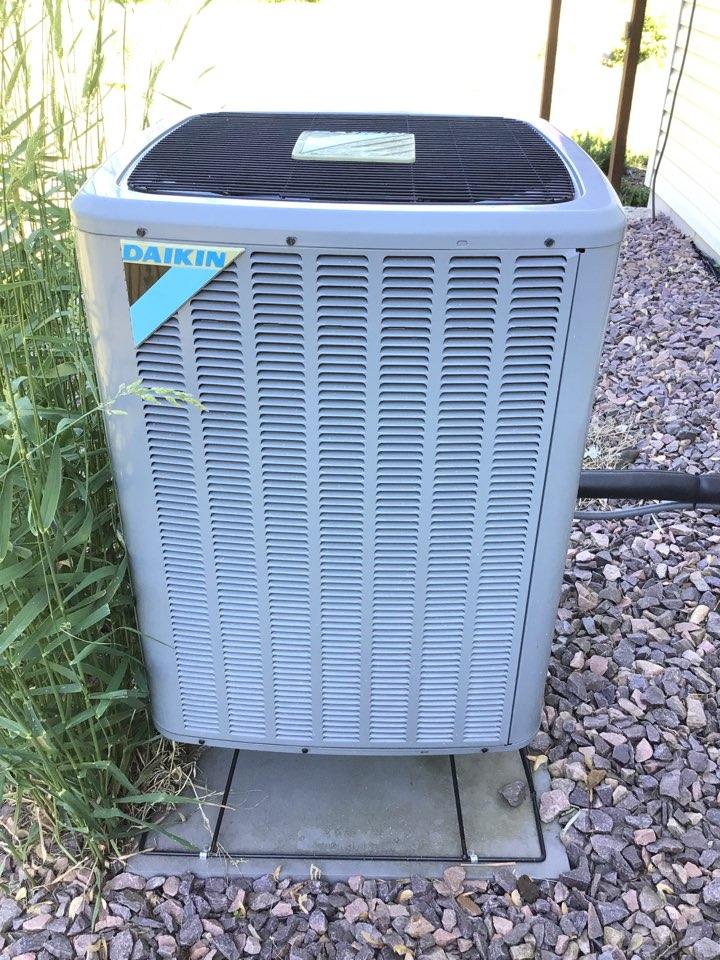 Corcoran, MN - Daikin heat pump service