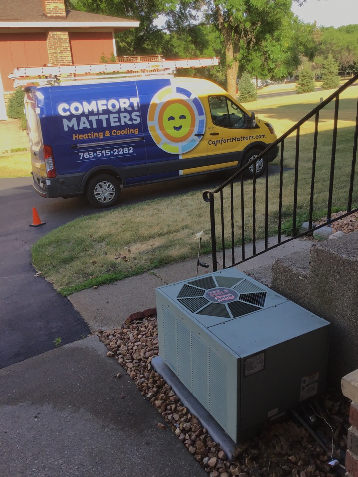 Osseo, MN - Repaired a low voltage short on a Ruud A/C.