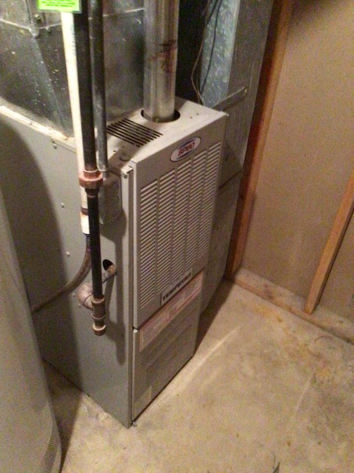 New Hope, MN - Temp star furnace inspection.