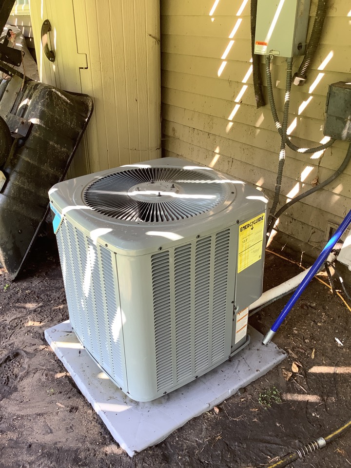 Andover, MN - Ac tune up. Air conditioning precision tune up on a Daikin air conditioner