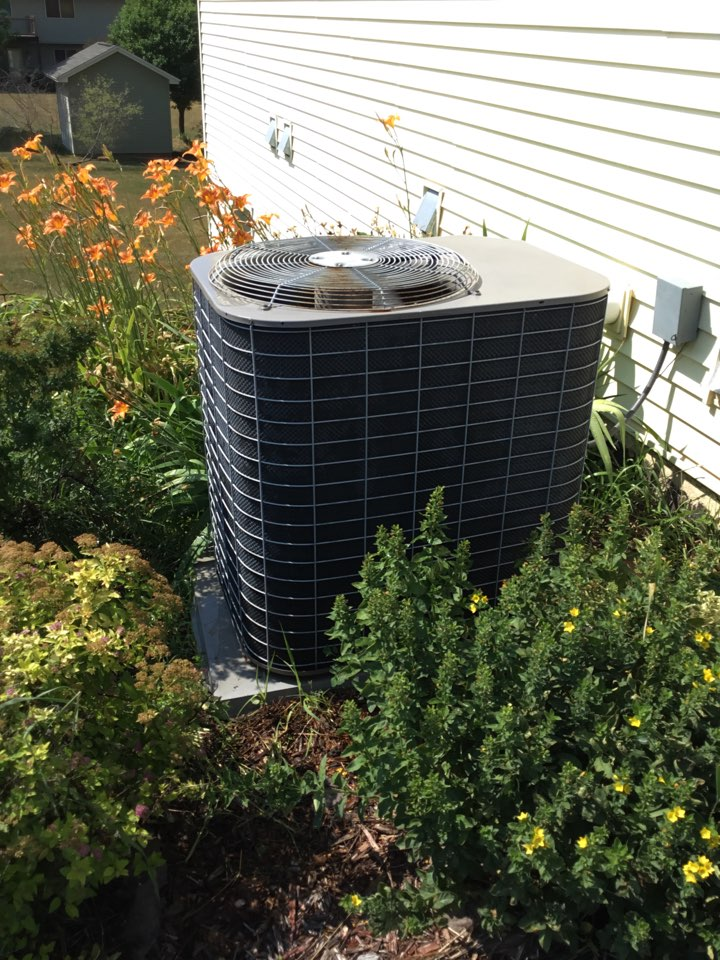 Albertville, MN - No cooling call. Found Ac motor booster failed and replaced. Performed tune up as well.