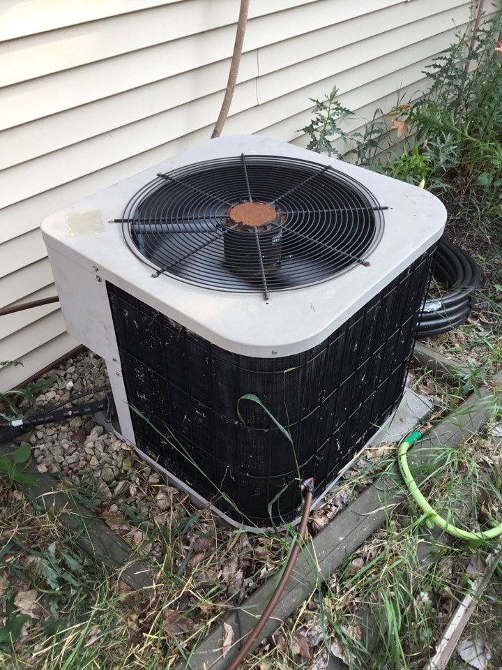 Champlin, MN - No cooling call. Found start assist failed and replaced with new version.