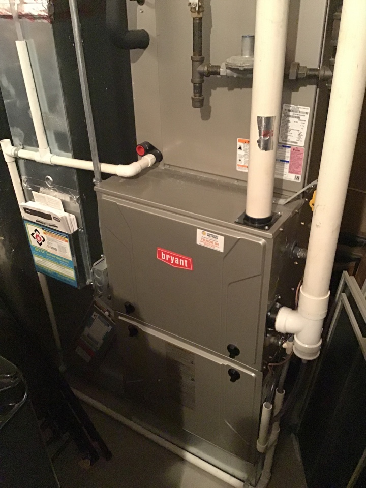 Albertville, MN - I diagnosed an improper wired humidifier on a Bryant furnace