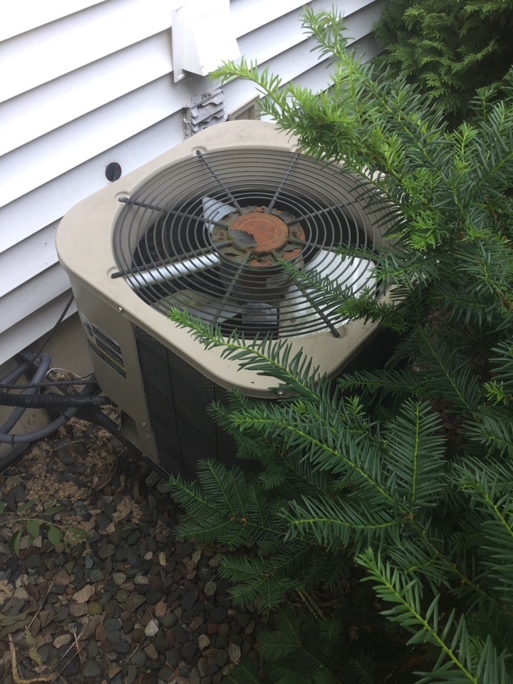 Osseo, MN - Found A/C out of refrigerant.
