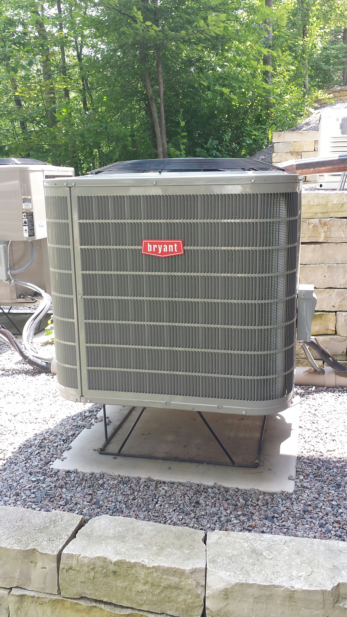 Maple Lake, MN - Ac service. Replaced a TXV on a Bryant heat pump system.