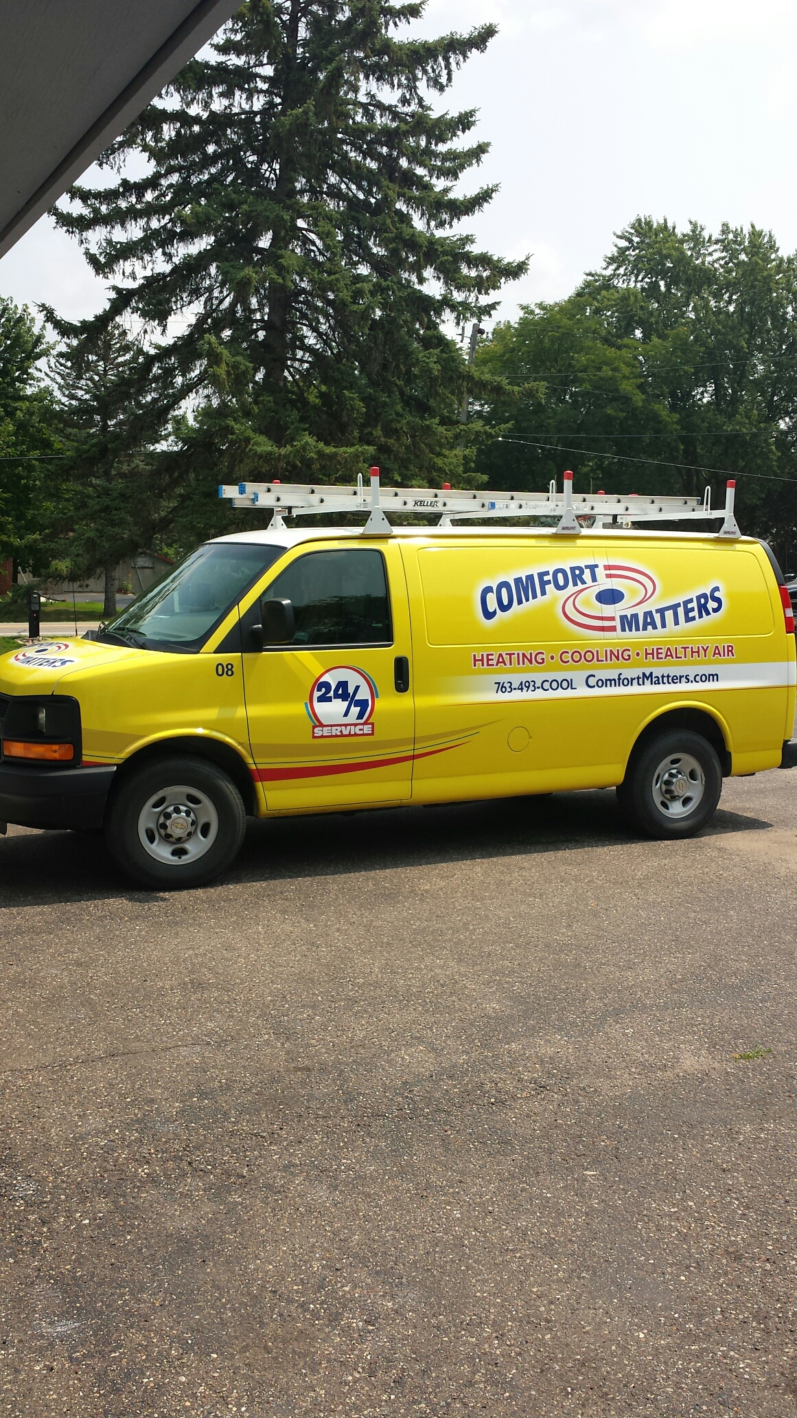 Maple Lake, MN - Heating service. Replaced a Gas valve in a Reznor unit heater.