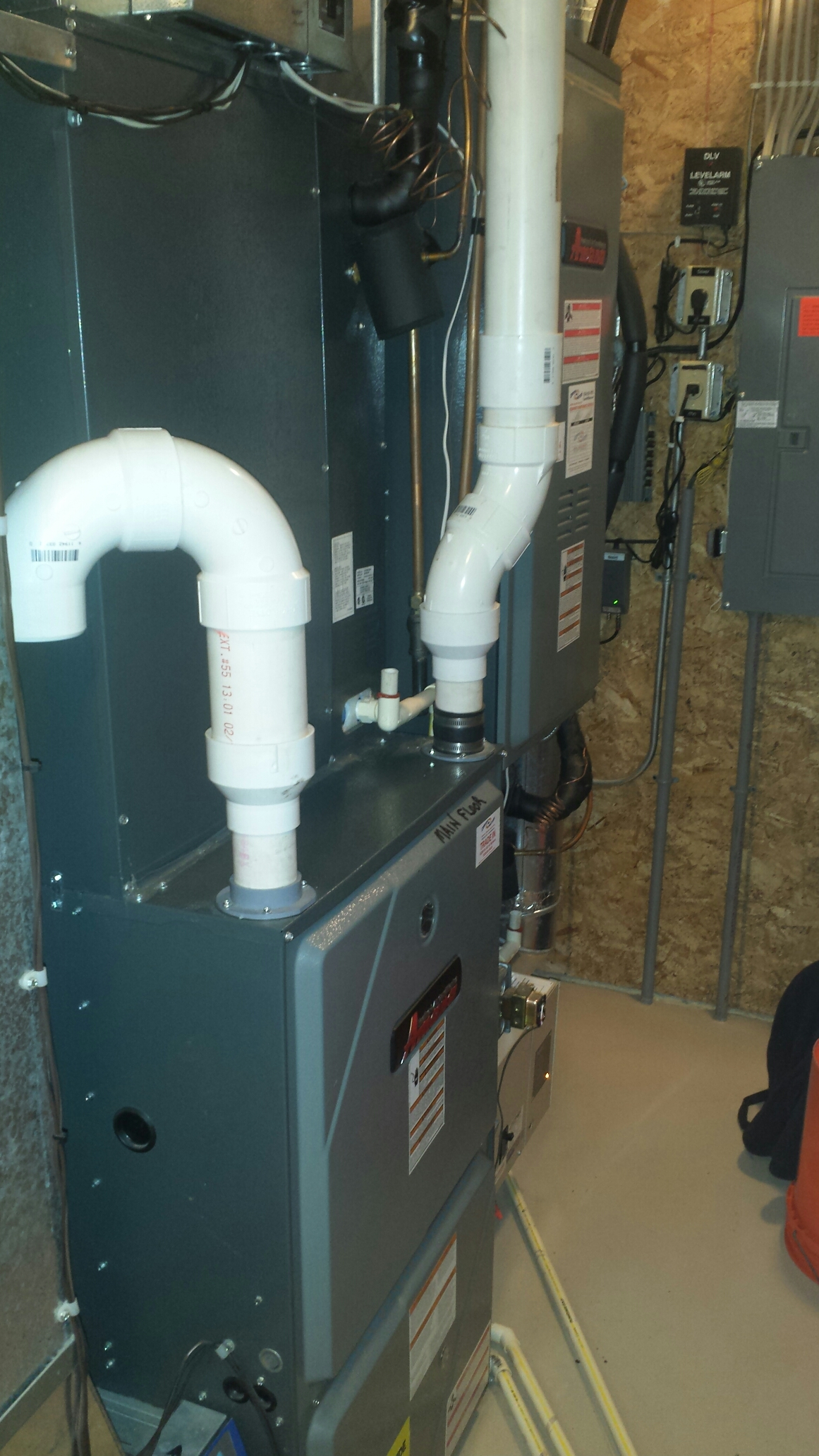 Maple Plain, MN - Heating maintenance. Performed a cleaning and tune up on two Amana furnaces and three Heat-N-Glo fireplaces. Also replaced two Honeywell media filters, a T&P valve on a water heater and installed two ECM variable speed motor surge protectors.