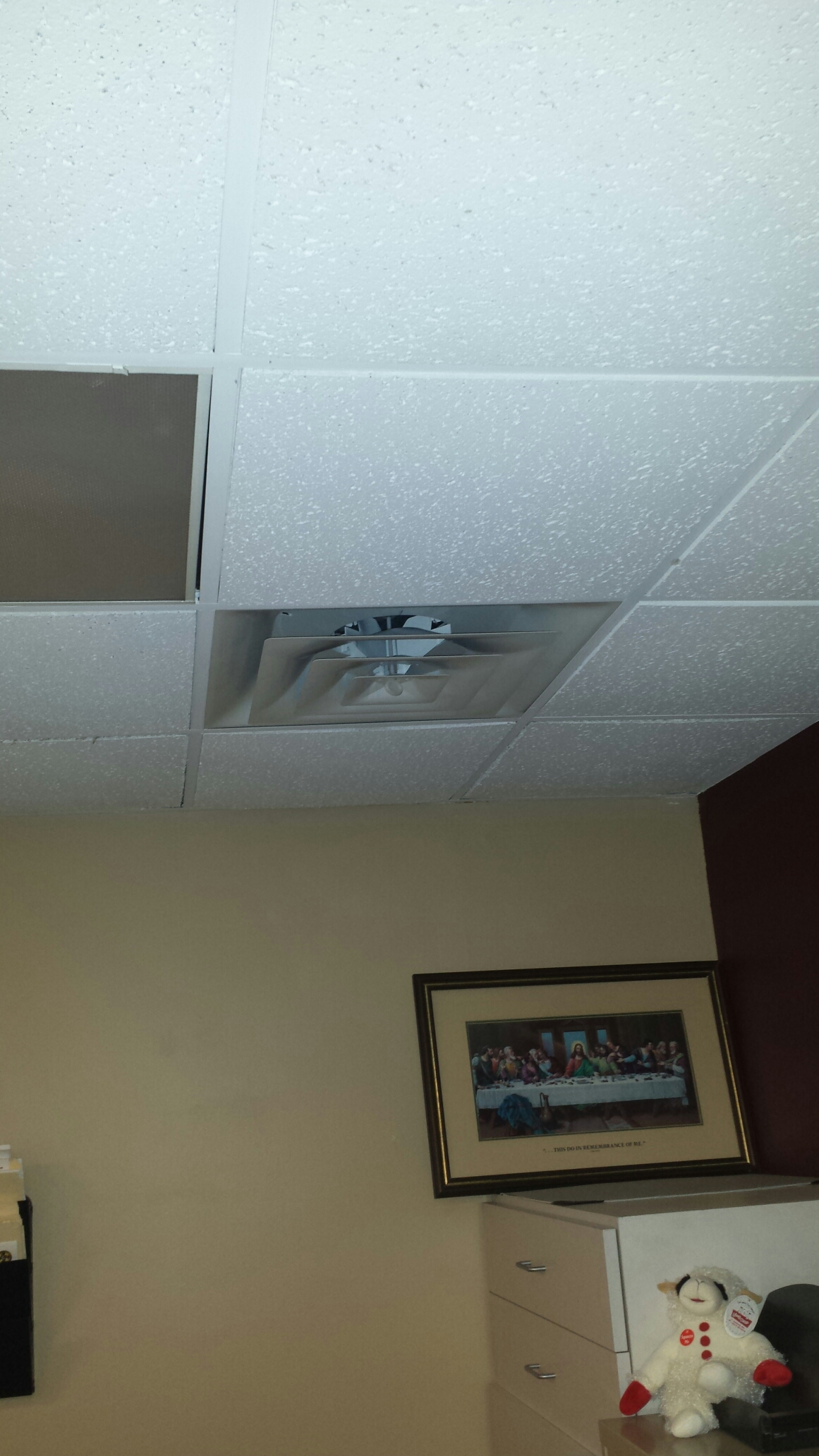 New Hope, MN - Ductwork install. Installed two air diffusers to aid in air flow issues.