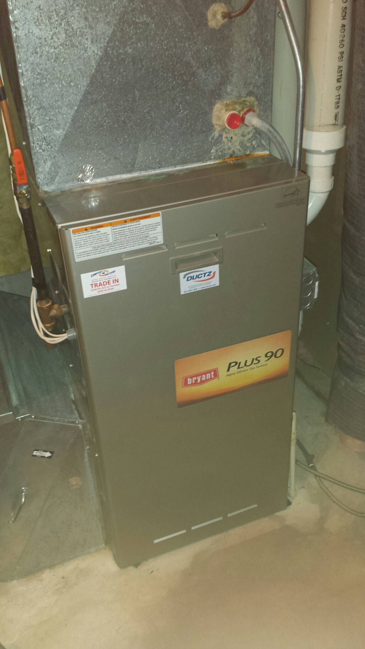 Maple Plain, MN - Heating maintenance. Performed a cleaning and tune up on two Bryant  furnaces, two Venmar air exchangers and an Aprilaire humidifier. Also replaced two Honeywell media filters.