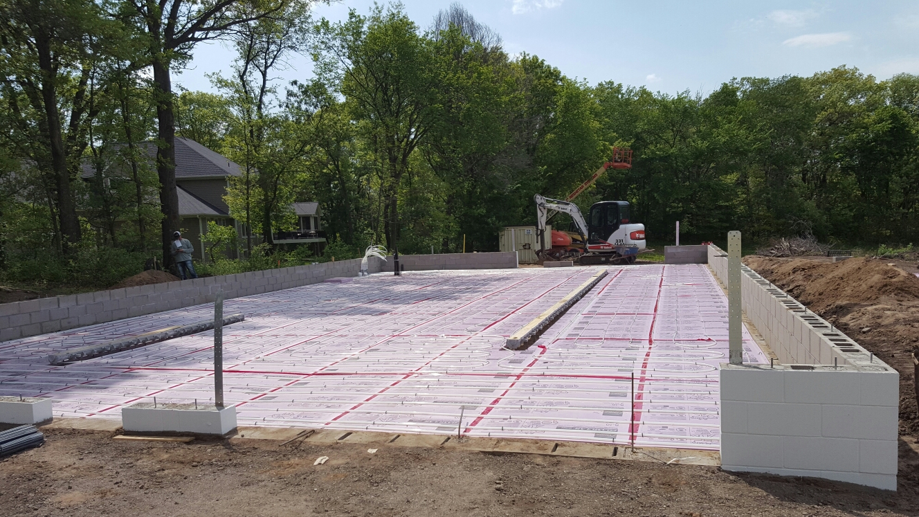 Andover, MN - I floor heating installed