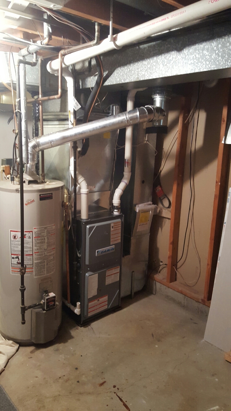 Anoka, MN - New daikin furnace install