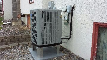 Zimmerman, MN - installed a new trane furnace and a/c