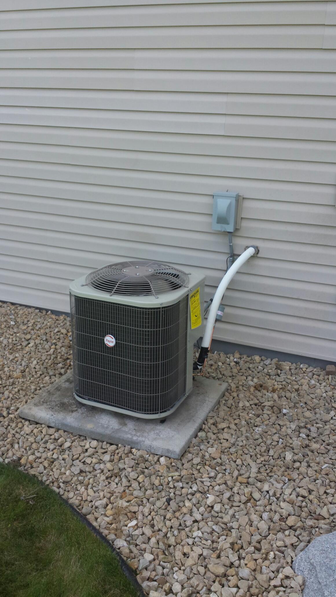 Champlin, MN - Condenser replacement