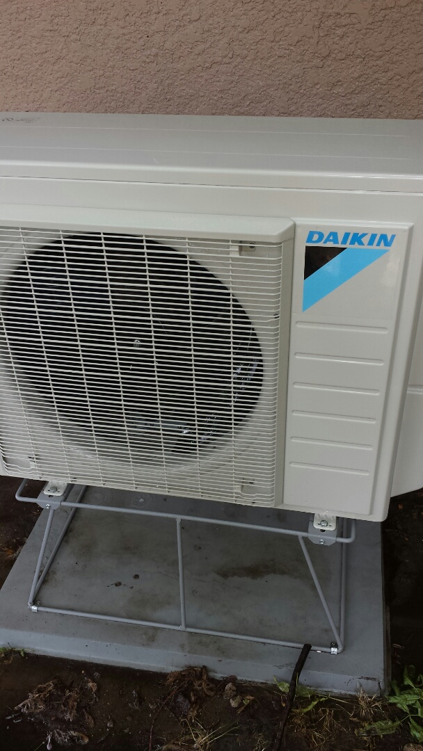 Golden Valley, MN - Air conditioning maintenance tune up and cleaning on a Daikin ductless air conditioning system