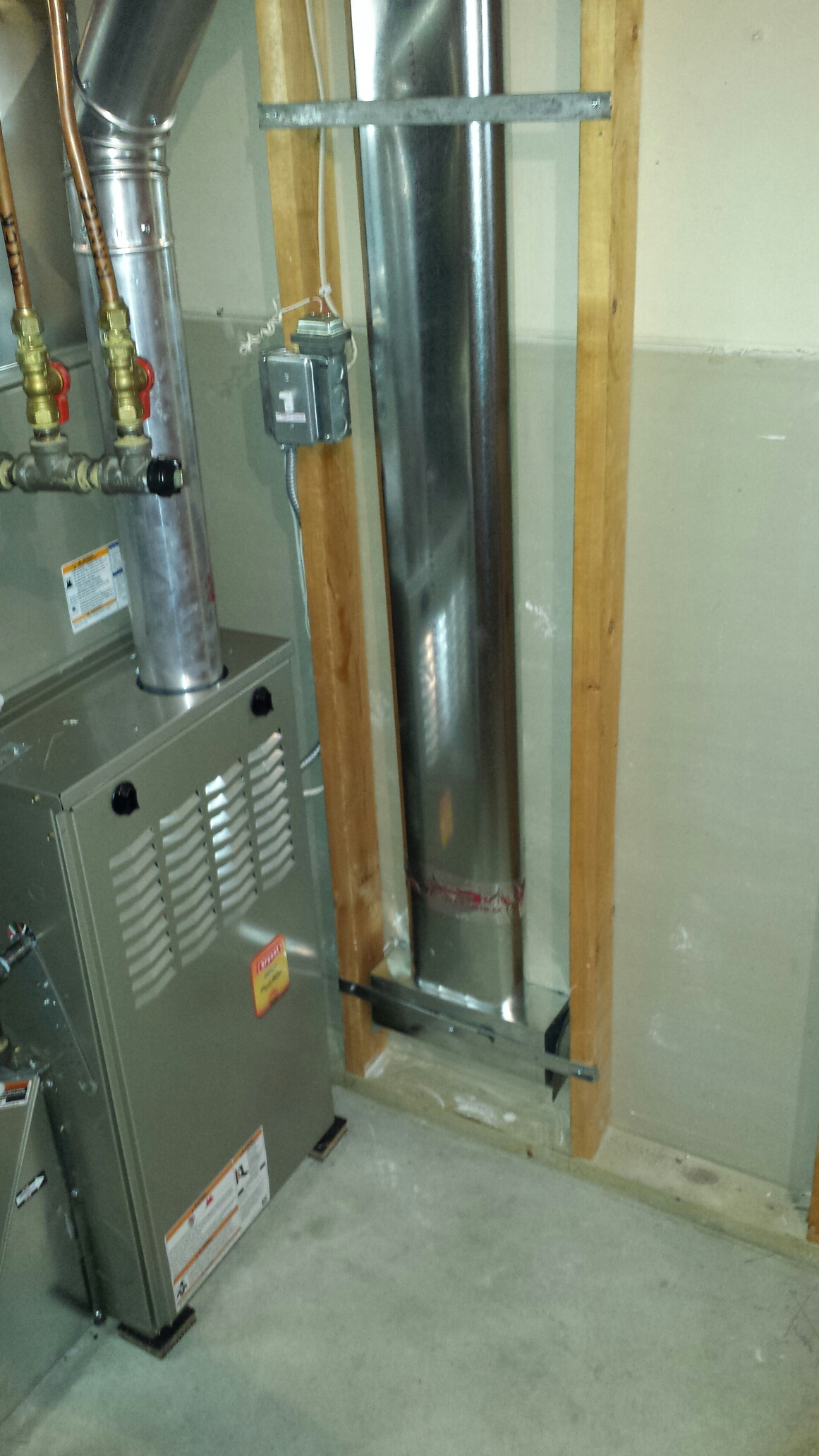 Brooklyn Park, MN - Install comfort matters furnace