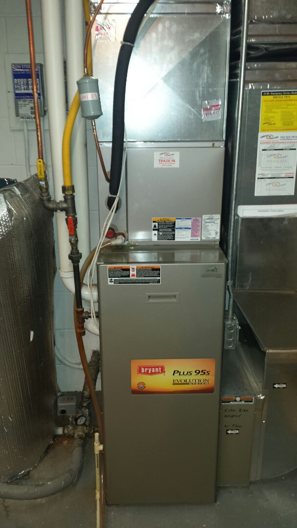 Wayzata, MN - Air conditioner service. Replaced a TXV and filter dryer on a Bryant AC. Also installed locking refrigerant caps.
