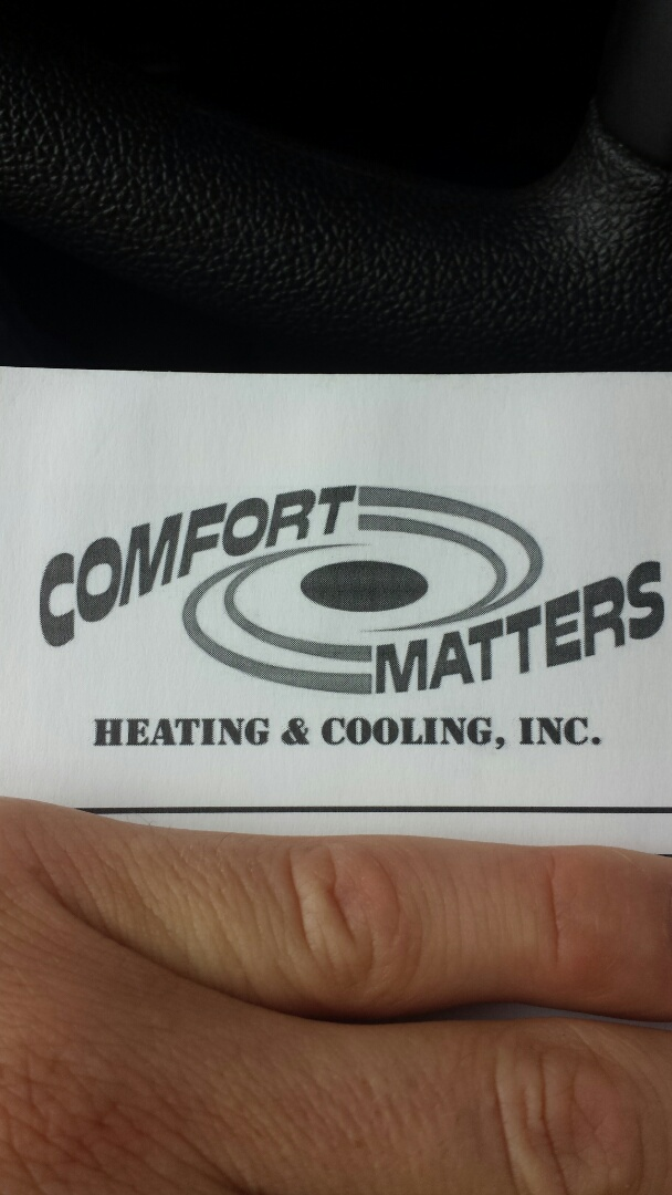 Maple Lake, MN - Air conditioning service. Replaced a Trane ComfortLink communication thermostat on a Trane furnace and A/C.