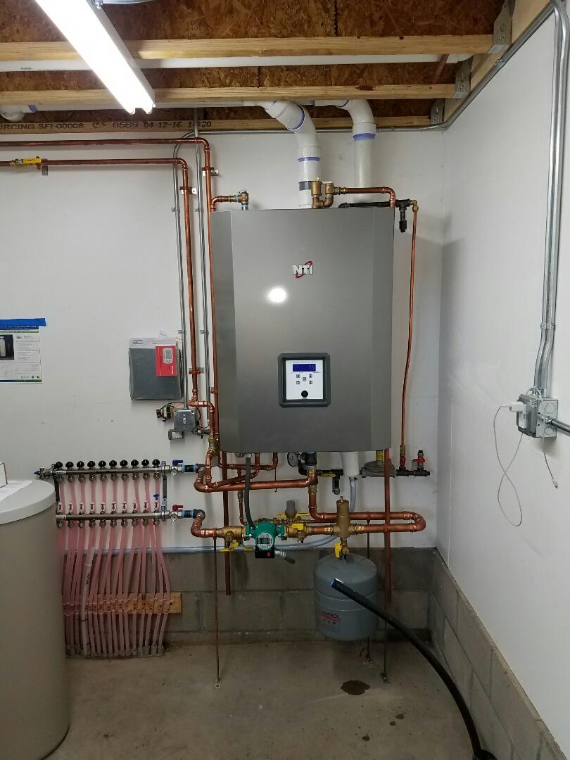 Blaine, MN - New NTI boiler install