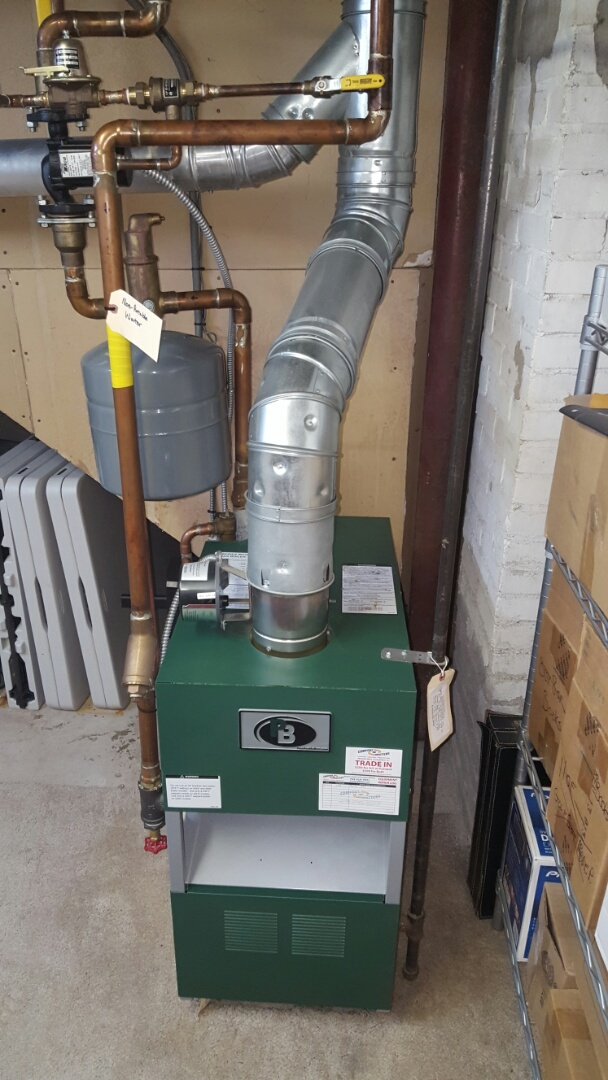 Wayzata, MN - Heating service. Performed a cleaning and tune up on a Peerless Boiler.