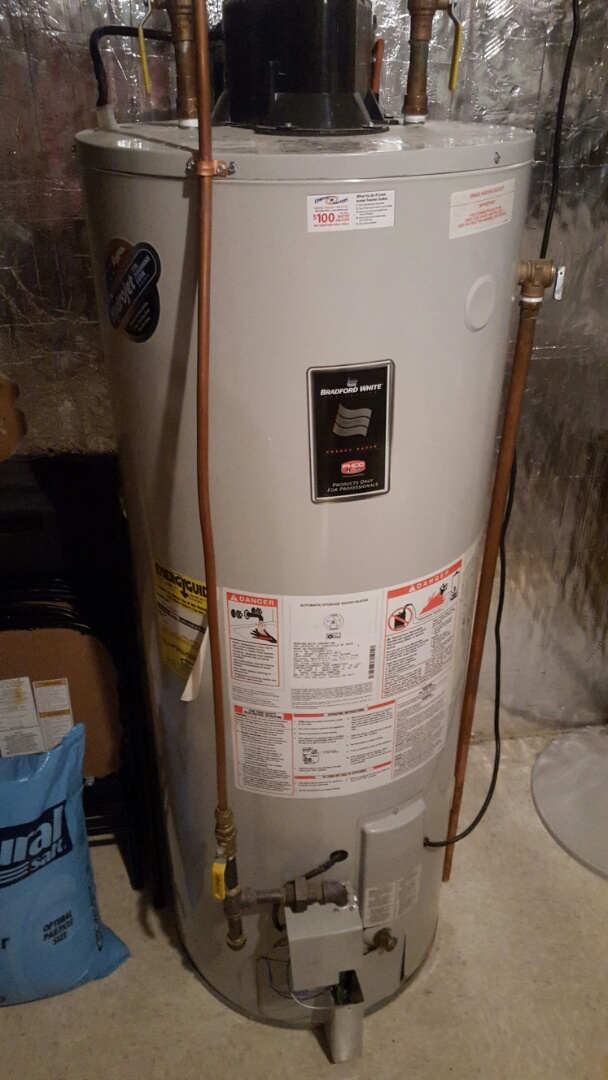 Edina, MN - Heating service. Diagnosed a Bradford White water heater.