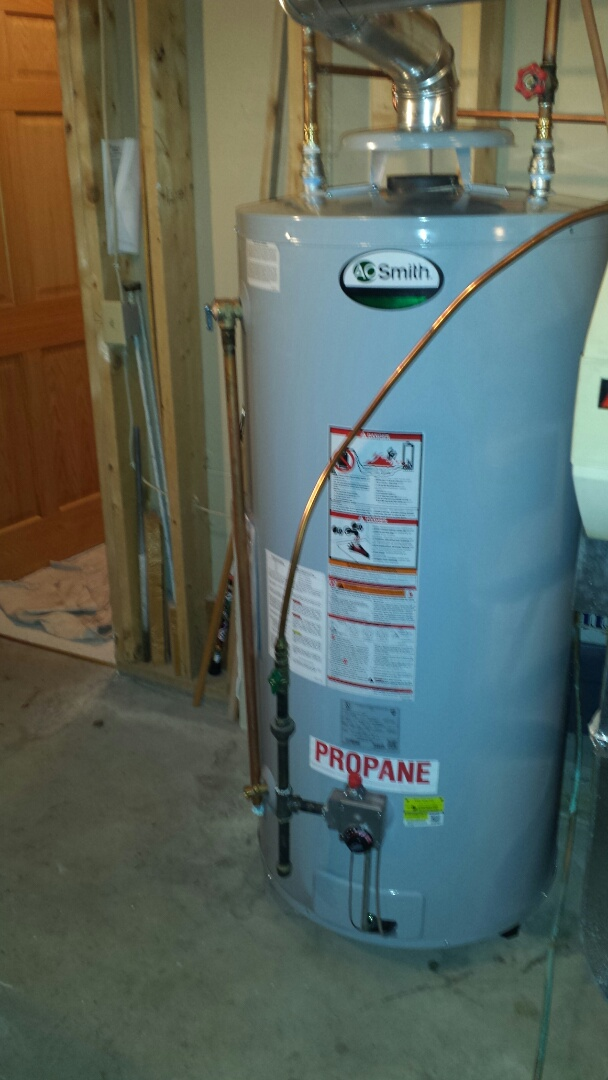 Independence, MN - AO Smith 75 gallon water heater install