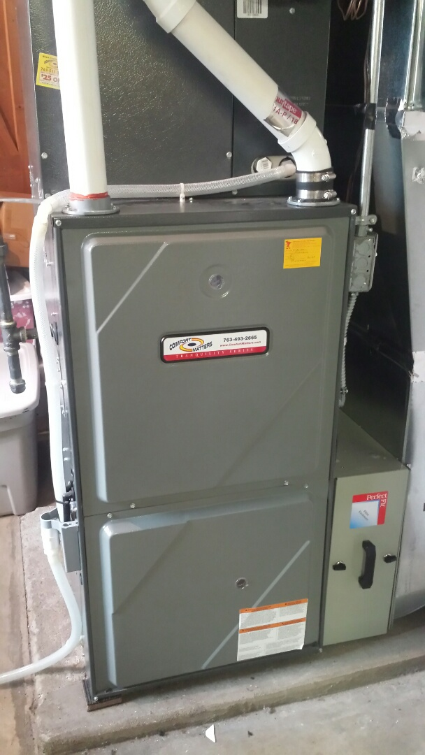 Eden Prairie, MN - Goodman furnace tune up and cleaning