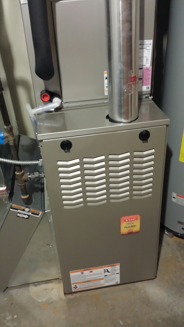 Monticello, MN - Bryant furnace tune up and cleaning