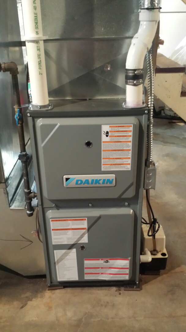 Rockford, MN - Daikin furnace tune up and cleaning