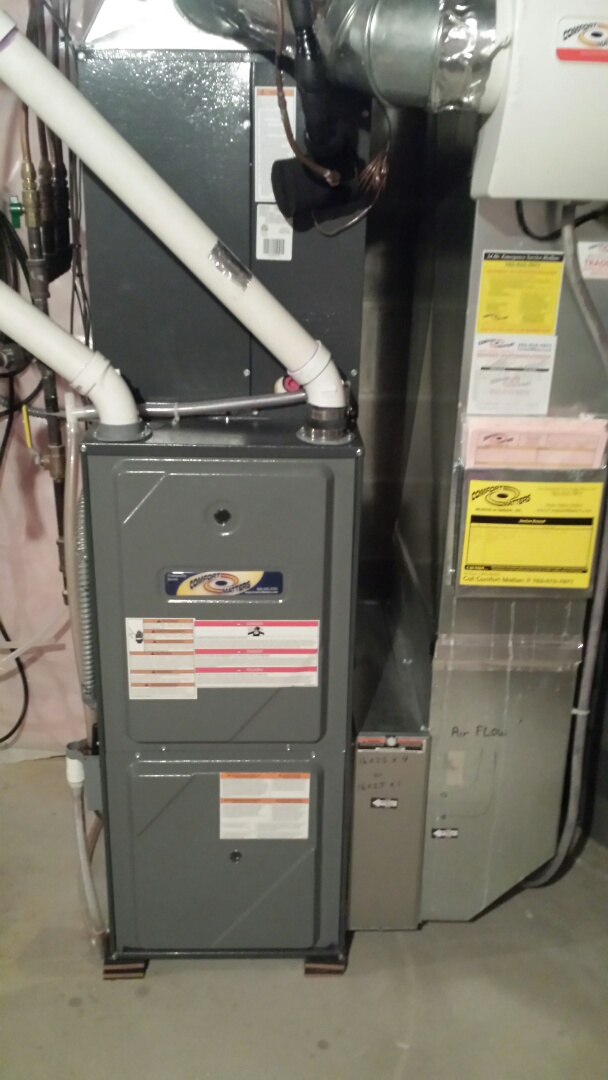 Becker, MN - Amana furnace tune up and cleaning