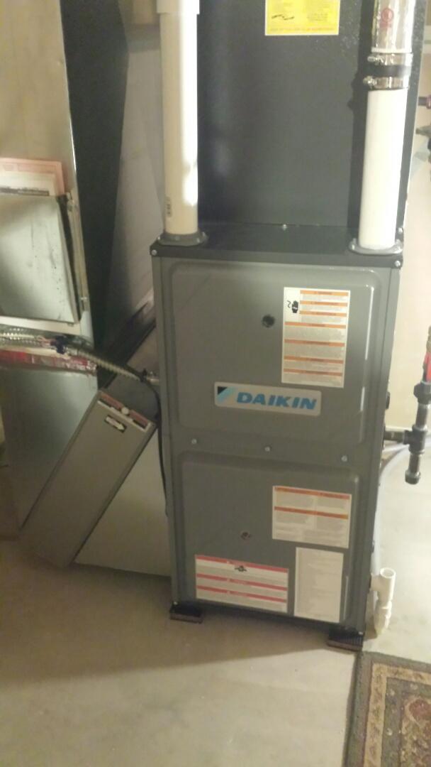 Champlin, MN - Daikin furnace tune up and cleaning