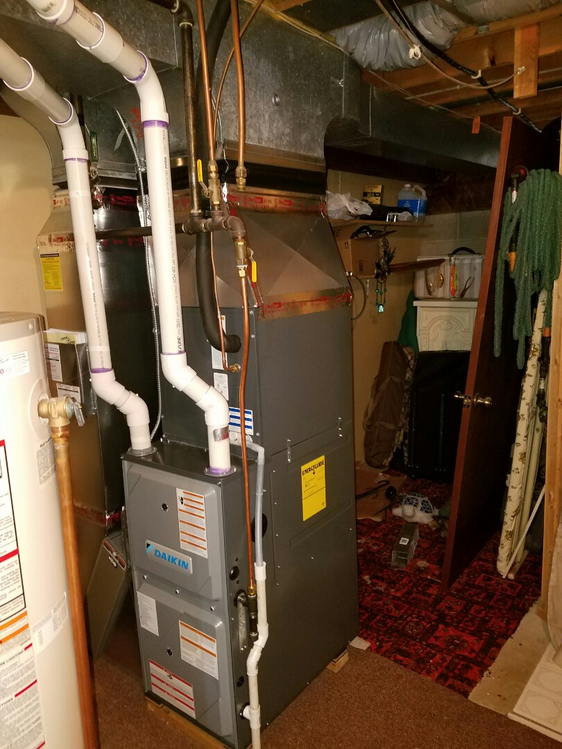 Champlin, MN - New furnace install