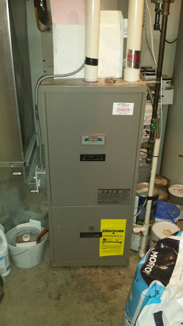 Montrose, MN - Evcon furnace tune up and cleaning