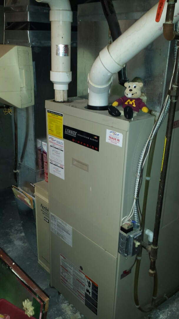 Long Lake, MN - Lennox Furnace tune up and maintenance