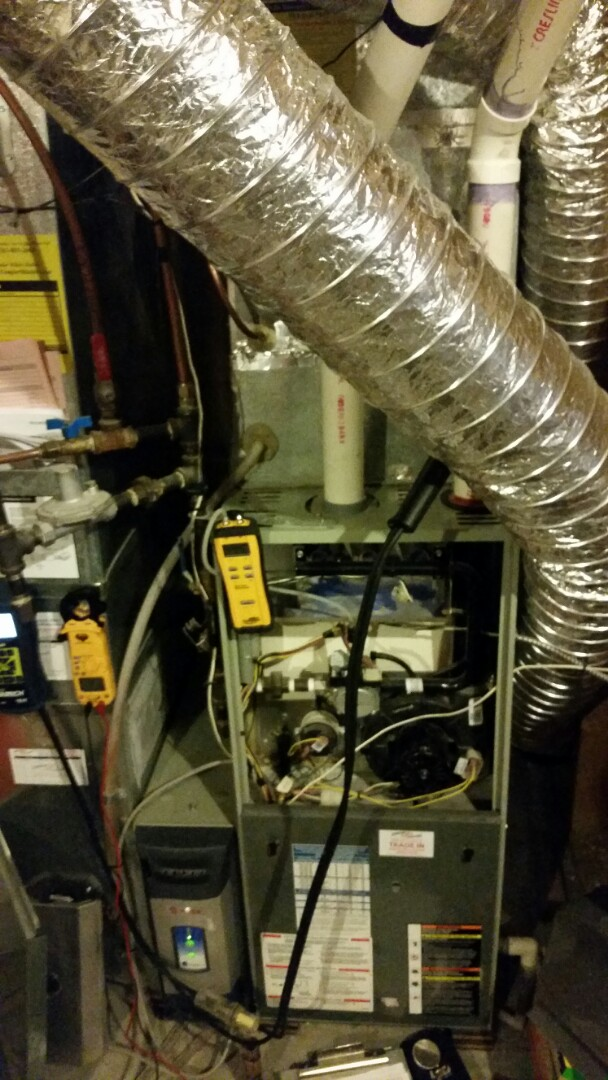Ramsey, MN - Tune up on 92 % Trane furnace in Ramsey