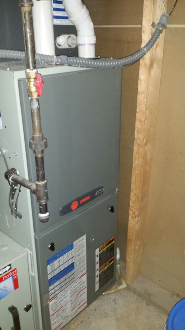 Loretto, MN - Trane furnace tune up and cleaning