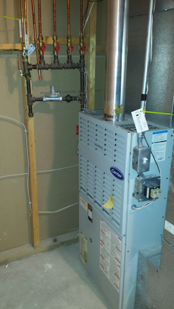 Wayzata, MN - Carrier furnace no heat.  Cracked hot surface ignitor