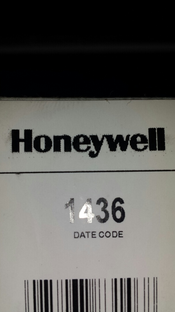 Becker, MN - Thermostat service. Installed a software update on a Honeywell TH8000 thermostat.