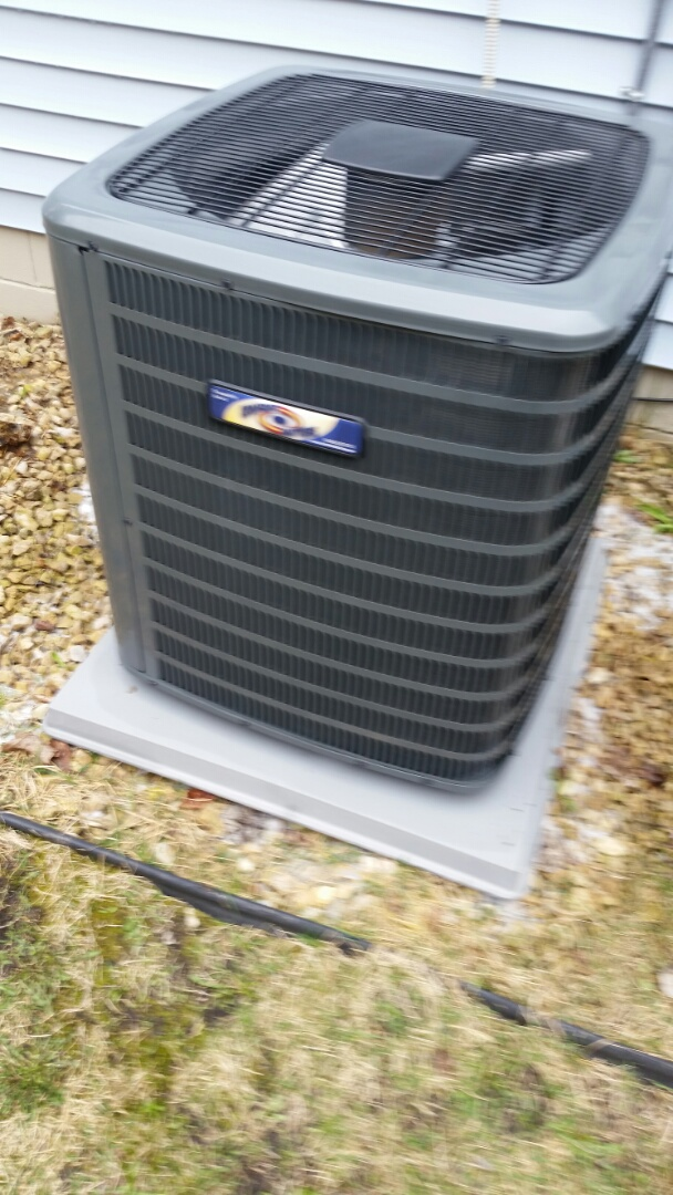 Saint Louis Park, MN - A/c tune up on Goodman unit in St. Louis Park