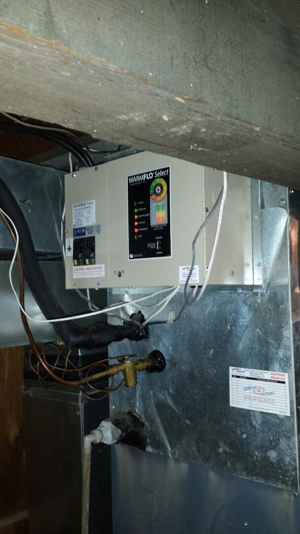Medina, MN - Plenum electric heater issues